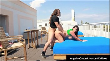 Thick latinas porn girls Curvy cuban angelina castro is pussy pounded on hotel roof