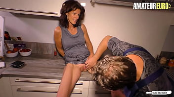 AMATEUR EURO - Sexy German Wife Cheat Husband With Her Plumber