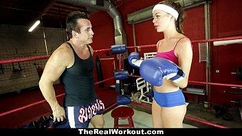 Dicks sporting goods site - Therealworkout - horny brunette fucked in the gym