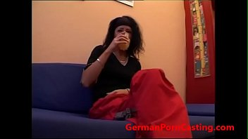 18 Year old Teen Fucked - GermanPornCasting.com
