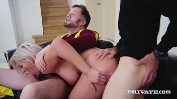 Private.com - Sex Fiend Sienna Day Gets DP'd By 2 Big Cocks