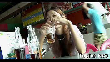 Insane dude picks up a thai slut and is gonna fuck her rough