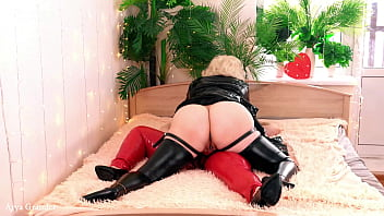 Lesbians CowGirl Position Strap-on BDSM Sex with Domination