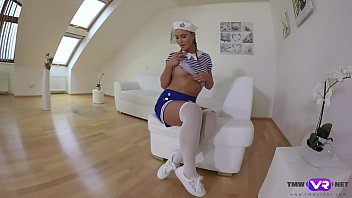 TmwVRnet.com - Naomi Bennet - Cute Sailor Cosplayer Shows Her Skills in VR Solo