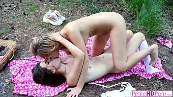 Petite Lesbian Teens Find That Pussy Tastes Better Outdoors S19:E10