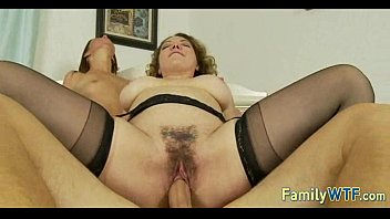 Mom and daughter threesome 0325