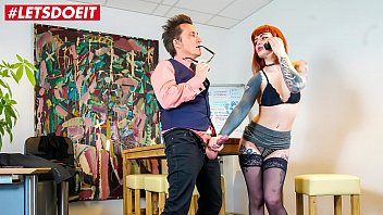 LETSDOEIT -  Redhead Kylie Kay Gets Banged In Hard Style By Her Boss