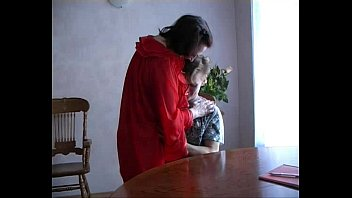 Mature woman  with young boy thumbnail