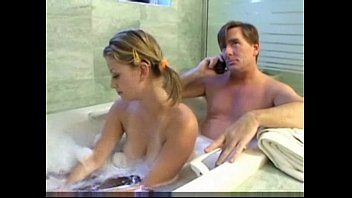 Teen Daugther and daddy have fun Thumb