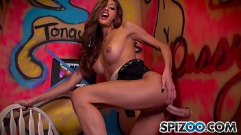 Spizoo - Chloe Amour  suck and fuck a big fat cock, Glory hole, big boobs & bubble butt