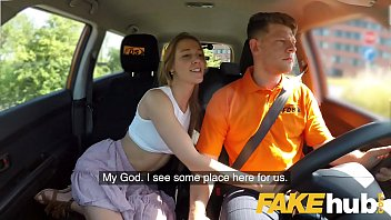 Sexy crystal Fake driving school horny minx alexis crystal desires drivers cock