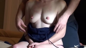 Neighbor's Wife Has Great Orgasm, Takes Cumshot on Sextape 99