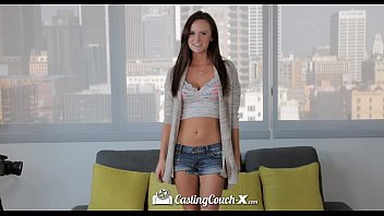 CastingCouch-X - Cute Jayden Taylors is nervous for her porn audition