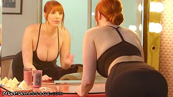 NuruMassage Thirsty MILF Lauren Phillips Wants Her Step-son's Dick So Bad