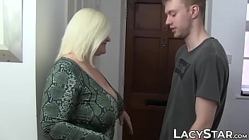 Super hot GILF Lacey Starr dicked by hung young lover