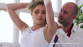 Private.com - Tiny Blonde Angel Emily Gets Anal Banged!
