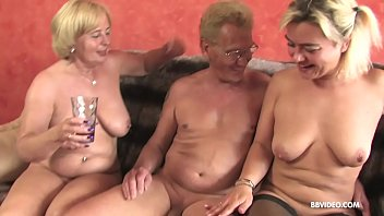 Big fat dick grandpa - Amateur german threesome with old sluts and a pierced guy