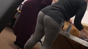 Puerto Rican church PAWG candid
