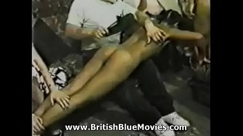 Genuine photos of vintage domestic spankings British spanking from the 1980s with solange hop