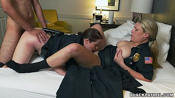 Big green dick photo - Police officers have threesome with criminal