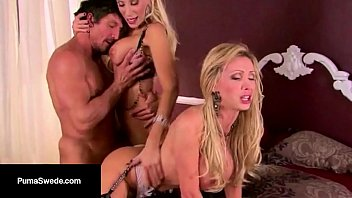 Cum Swappin Duo Puma Swede & Nikki Benz Get Fucked Together!