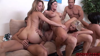 Wife Swapping Has Lindsey And Her Friends Cock Hopping