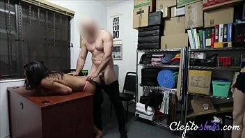 Bald Officer Takes Teen Stealing Slut For Ride- Vienna Black