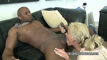Busty milfs fucking black guys Blonde milf phoenix marie is nailing a guy she just met