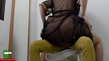 CoverHorny fucked with Jesus on a chair. SAN313