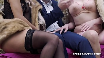 Private.com - Dicked! Alice Wayne & Cherry Kiss Share Cock!