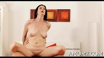 Addicted mature in a sexy act