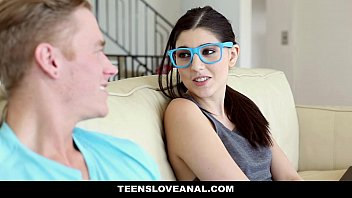 TeensLoveAnal - Nerdy Virgin (Miranda Miller) Sodomized