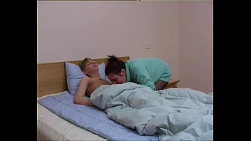 Russian mature Bella with young boy 20 min