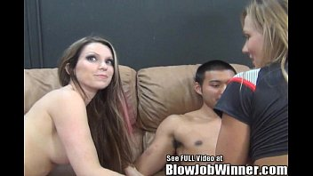 Hand job fan club Thin big titty pornstar courtney cumz blows her fan untill all sees his cumshot