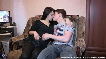 Casual Teen Sex - Fucking instead Dania of watching a movie