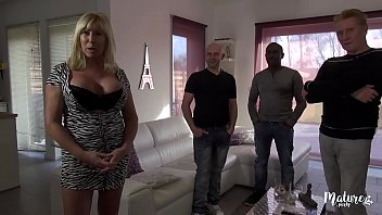 Mature Emanuelle participates in the orgy with gifted young people