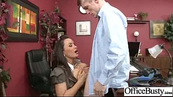 Office Sex Tape With Naughty Lovely Bigtits Girl movie-22