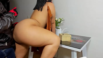 big booty latina fucks the delivery guy on thanksgiving night