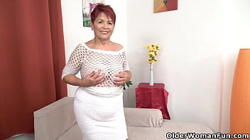 Granny Inke makes sure that her old pussy is clean inside and out (brand NEW video available in Full HD 1080P). Bonus video: Euro gilf Tarra.
