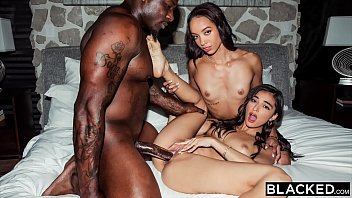 BLACKED BBC-Hungry BFFs Alexis & Emily have hot threesome