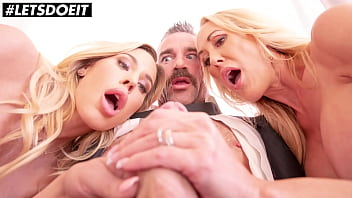 SCAM ANGELS - Brandi Love, Olivia Austin and Charles Dera - Cheating Guy Can't Help Himself This Time!
