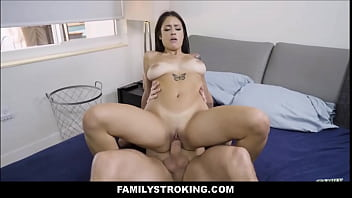 Big Ass Latina Teen Stepsister Melody Foxx Caught Masturbating To Sleeping Stepbrother Duncan Saint