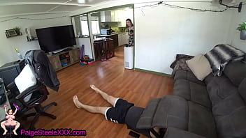 Making My STUCK Brother Creampie Me