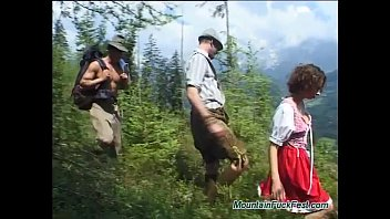 rough german fuck in the mountains