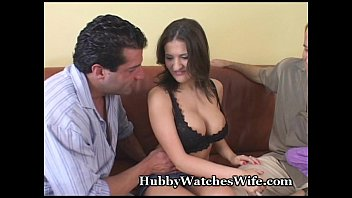 Hubby Watches Wife Have Orgasm With Stud video