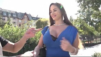 Sexy Cathy Heaven shows her big tits