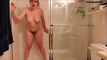 Glass dildo for kegles Caught perving on my shower