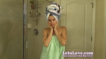 I strip out of my dress then shower and wash my hair while you watch - Lelu Love