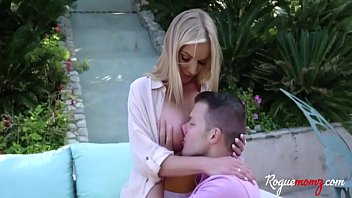MOM and DAUGHTER cuckold with teen boy- Amber Addis & Rachael Cavalli thumbnail