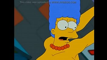 Simpsons Marge tentacle fuck